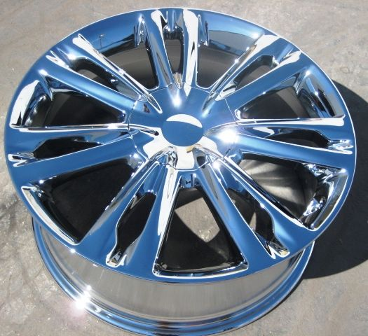 YOUR STOCK = 4 NEW 18 FACTORY HYUNDAI GENESIS OEM CHROME WHEELS RIMS